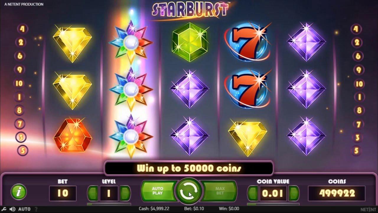 starburst gameplay