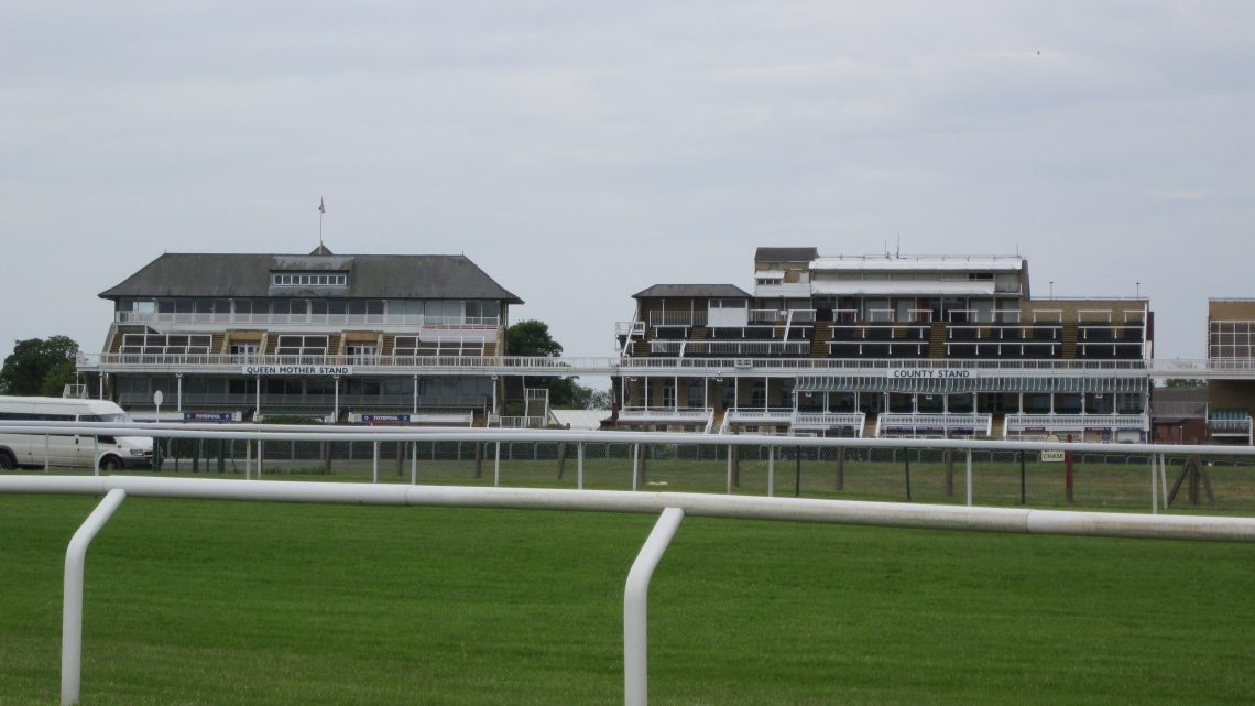 Aintree Racecours from The Melling Road