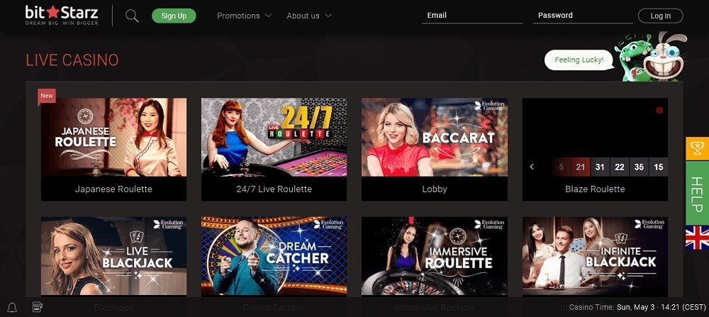 Bitstarz Live Casino