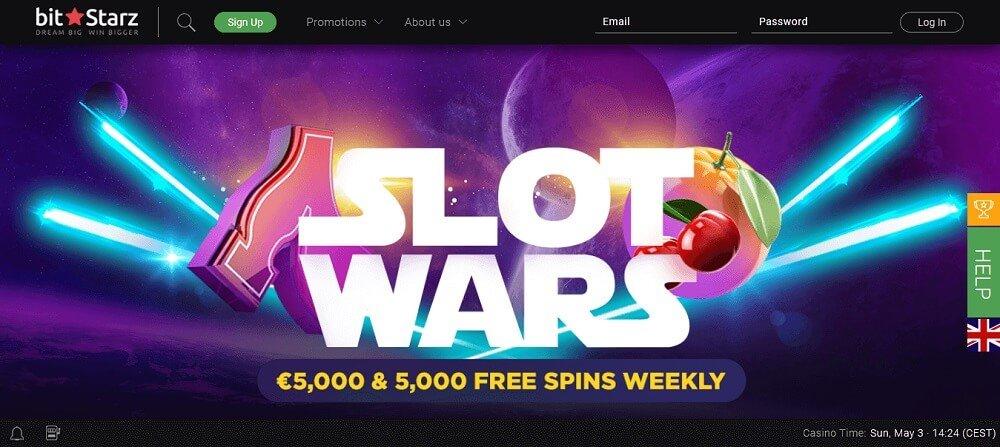 Bitstarz Slots War