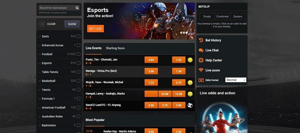 Casino Winner Sportsbook
