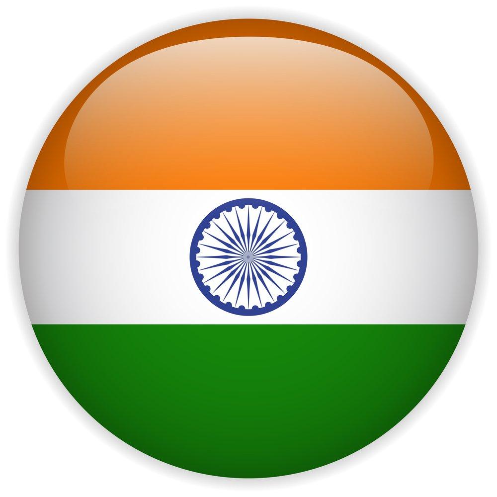 India Flag Glossy