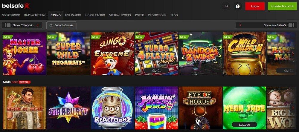 betsafe casino